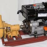 "Lombardini Engine with 4"" Gravel Pump"